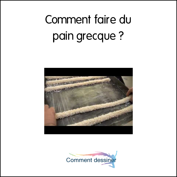 Comment faire du pain grecque